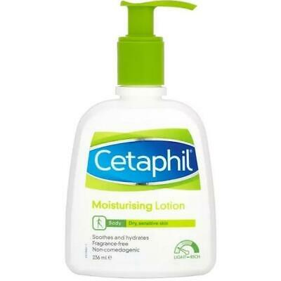 Cetaphil Moisturising Lotion Soothes Hydrates Sensitive Dry 236ml 1 2 3 6 Packs