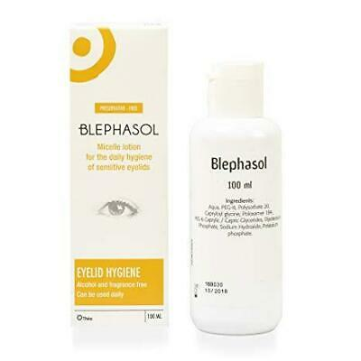 Blephasol Daily Hygiene Sensitive Eyelids Lotion 100ml 1 2 3 6 Packs
