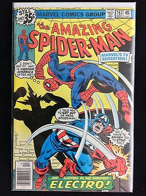 AMAZING SPIDER-MAN #187 Lot of 1 Marvel Comic Book - High Grade!