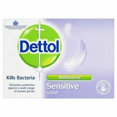 Dettol Sensitive Soap 100g 1 2 3 6 Packs