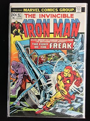 IRON MAN #67 Lot of 1 Marvel Comic Book - High Grade!