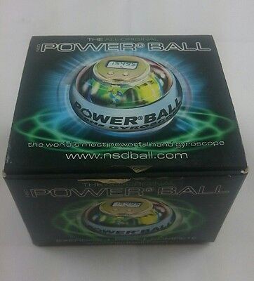 NSD Powerball NEON PRO - GREEN - WITH LCD DISPLAY & INTERNAL LED's