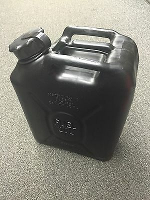 Scepter Military fuel can rare Black 5 gallon jeep hmmwv hummer 4x4