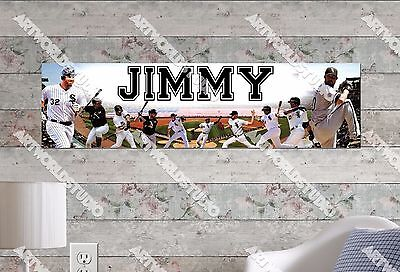 in Glossy Photo Paper BMW Personalized Name Poster Banner 8.5 x 30/""