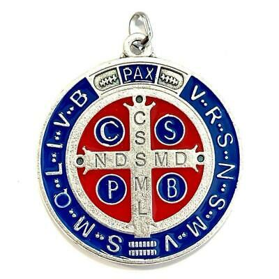 """⛪️ St. Saint Benedict 2"""" Medal ❀  Exorcism ❀  Medalla BLESSED BY POPE"""
