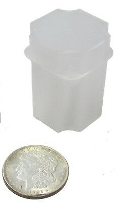 GUARDHOUSE LARGE DOLLAR STACKABLE COIN TUBE - 38mm - MORGAN - PEACE - IKE - #933