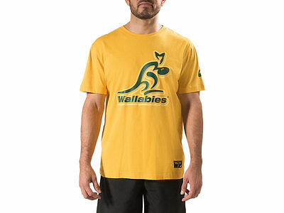 Authentic Asics Wallabies 2017 Mens One Team Tee