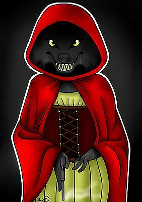 Red Riding Hood Werewolf Posters