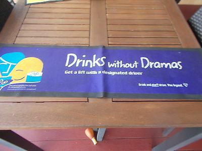 Beer Bar Mat  Drinks Without Dramas beer