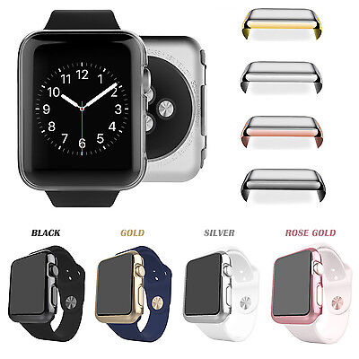 Apple Watch Series 1/2 Full Body Cover Snap On Case + Built-in Screen Protector