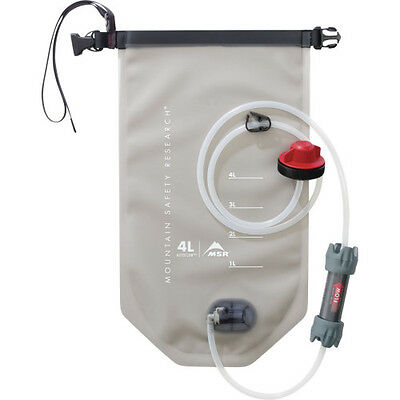 Msr Autoflow Gravity Filter 4l Unisex Adventure Gear Water Purifier - Clear