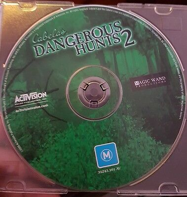 Cabela's Dangerous Hunts II (disc only) - PC GAME - FREE POST
