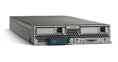 Cisco UCS B200 M3 Blade Server 16-Core 2.40GHz E5-2665 128GB RAM No HDD