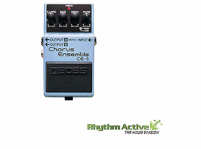 Boss Ce-5 Chorus Ensemble Guitar Effect/s Fx Processor Foot Pedal By Roland Ce5.