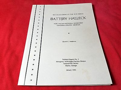 Excavations at Battery Halleck, Fort Pulaski RARE Technical Report
