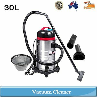 Industrial Commercial Domestic Home Bagless Dry Wet Vacuum Cleaner 30L 1400W