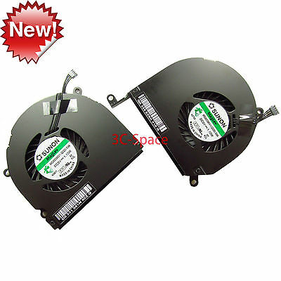 "100% NEW CPU Cooling Fan for 15"" Macbook Pro A1286 Left and Right 2009 2010 2011"