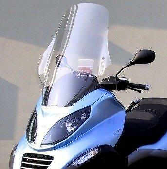 Parabrezza Senza Staffe  Windscreen Without Stirrups Fabbri Piaggio Mp3