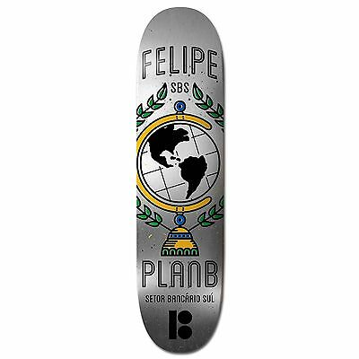 "Plan B - Felipe SBS 8.0"" Skateboard Deck"