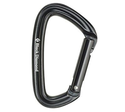 POSITRON BLACK DIAMOND ALLOY CARABINER 25 kN UIAA & CE CERTIFIED MADE IN USA