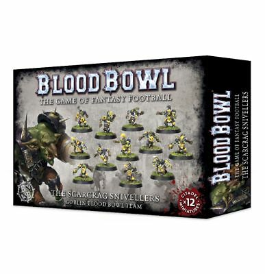 Blood Bowl - Scarcrag Snivellers Eye Team Games Workshop Goblin Fantasy Football