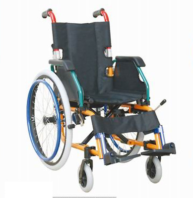 Paediatric Kids Childs Folding Wheelchair Fully Featured Lightweight BR NEW