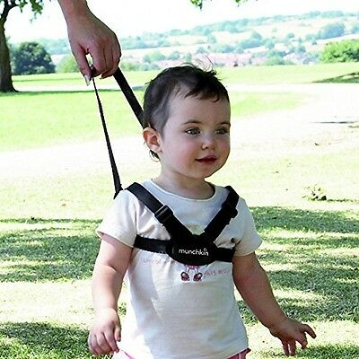 Munchkin Baby Kids Safety Harness and Reins Walking Leash Sure Steps Walk Strap