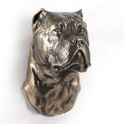 Cane Corso, dog statuette to hang on the wall, UK