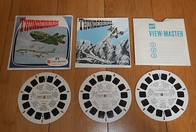 Thunderbirds Viewmaster Reels 1968 Vintage B453 Gerry Anderson Rare (85