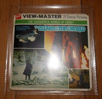The Island At The Top Of The World 1974 Viewmaster Reels B367 Vintage