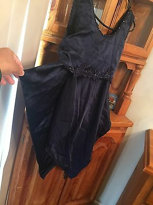 VINTAGE LINGERIE women's Blue Skirt And Top Set SIZE 12/14 APPRX