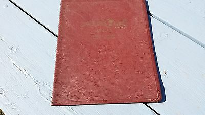 1952 Atlas Plat Book Barnes County Nome Kathryn Fingal North Dakota