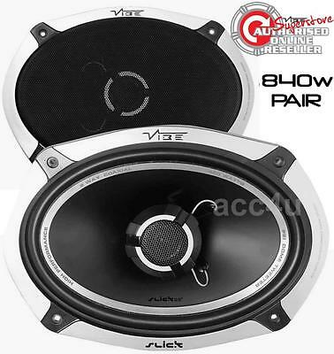 "Vibe Slick 69.2 6x9"" 692 840w 2-Way Car Parcel Shelf Coaxial Speakers Set"
