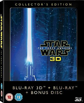 STAR WARS: The Force Awakens Collector's Edition [Blu-ray 3D + 2D] 3-Disc Set