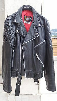 Belstaff , giubbotto , chiodo , giacca, pelle, leather