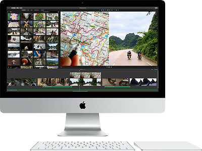 "APPLE IMAC 5K 27"" INTEL QUAD CORE i5 8GB RAM 1TB HDD 5K RETINA DISPLAY MK472B/A"