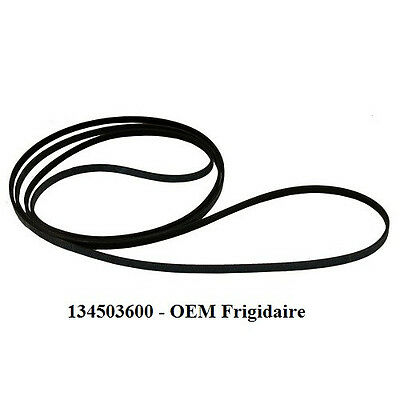 Dryer Drum Belt 134503600 (PS1148434, AP3865318) New Genuine OEM Frigidaire