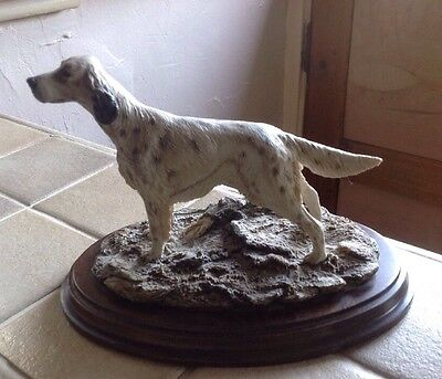 Rare Country Artists English Setter, (K. Sherwin)