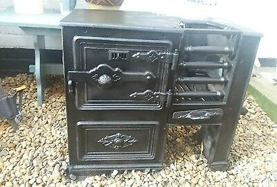 Decorative antique Cast Iron Range stove Oven