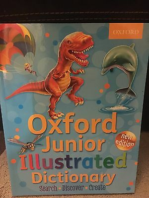 Oxford Junior Illustrated Dictionary Brand New