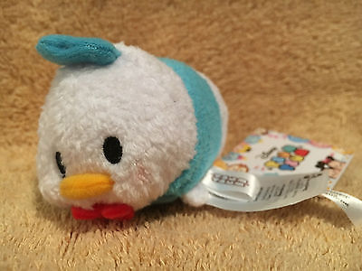 """REAL Disney 3 1/2"""" Mini Tsum Tsum from DONALD DUCK! FROM USA!"""