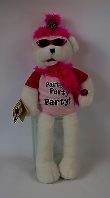 """Chantilly Lane Musicals – Animated Singing Party Bear – 19"""""""" Tall"""