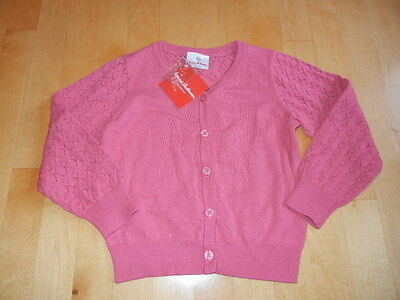 HANNA ANDERSSON NWT 2016 pink cardigan sweater, NWT, 110 (5 6)