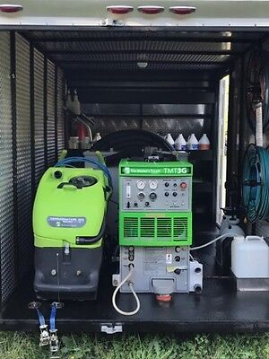 TMT 3G Truck Mounted Carpet, Tile, and Air Duct Cleaning Equipment Trailer