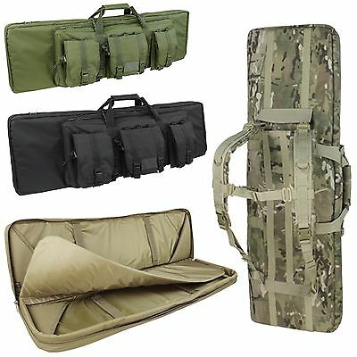 Condor Tactical Modular Double Rifle Range Hunting Case w/ Removable Pouches