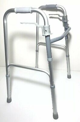 Mobility Medical Walking Frame Walker With Skis Rehab Disabilities Age Care NEW