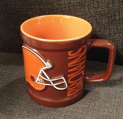 eacaf749b3a NFL CLEVELAND BROWNS Ceramic Coffee Mug FOOTBALL COLLECTIBLE