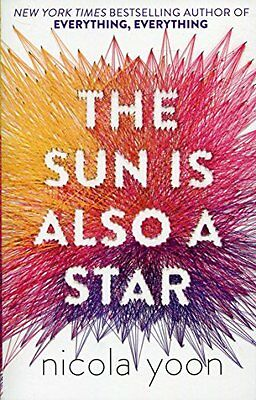 The Sun is also a Star by Nicola Yoon Paperback Book New