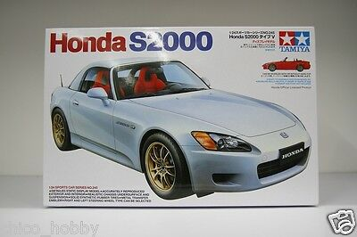 Tamiya 24245 Honda S2000 Type V Roadster Convertible AP1 Mugen MF10 Model Kit JP