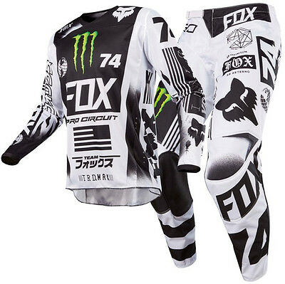 New FOX Racing MX 2017 180 Monster Pro Circuit SE Motocross Jersey Pants Outfit